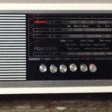 Radios de válvulas: RADIO ANTIGUA. RADIO TRANSISTOR VANGUARD POSEIDON CON 4 ONDAS ON-OC-OP Y FM. FUNCIONANDO. Lote 190436862
