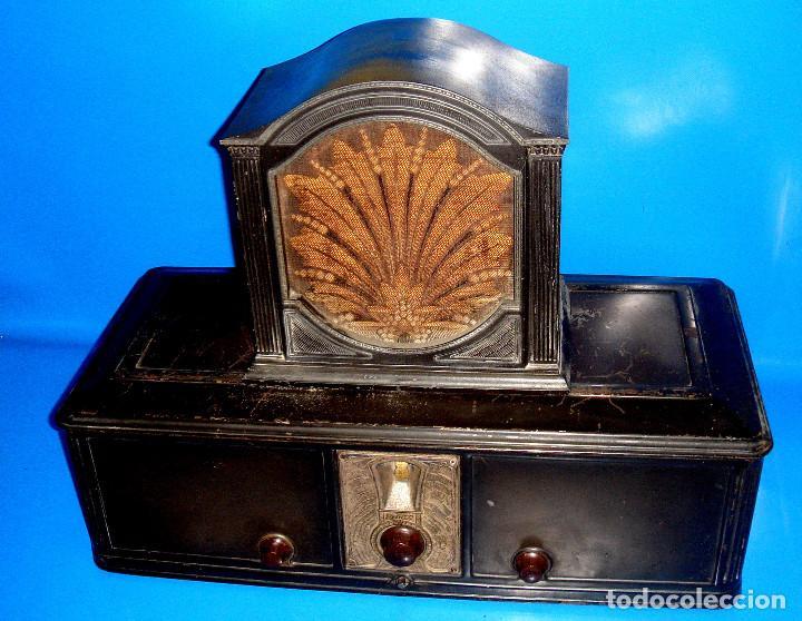 RADIO PHILCO-RADIO PHILCO 511-1928- 933X699-COLECCIONISMO (Radios, Gramófonos, Grabadoras y Otros - Radios de Válvulas)