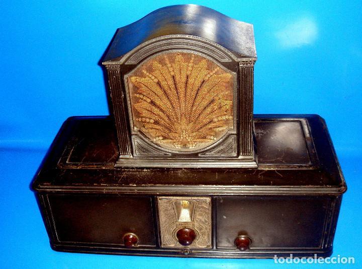 Radios de válvulas: Radio Philco-radio Philco 511-1928- 933x699-coleccionismo - Foto 2 - 191275271