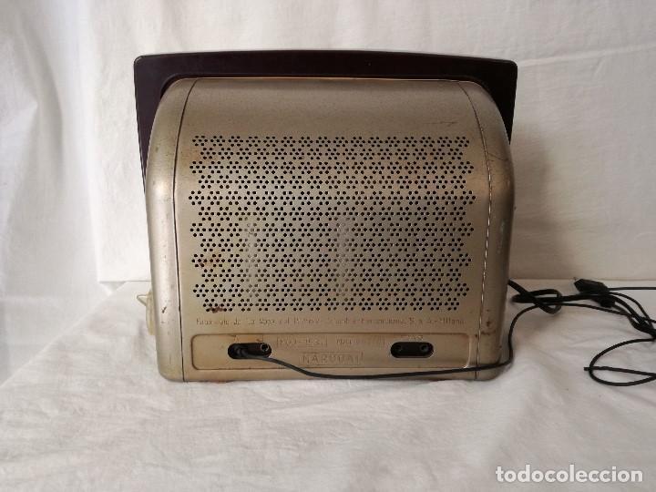 Radios de válvulas: ORIGINAL RADIO ITALIANA MARCONI DE MEDIADOS DEL SIGLO XX, EN FUNCIONAMIENTO. - Foto 5 - 191392552
