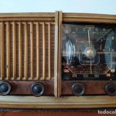 Radios à lampes: RADIO ANTIGUAL ESPAÑOLA FUNCIONA. Lote 191481067
