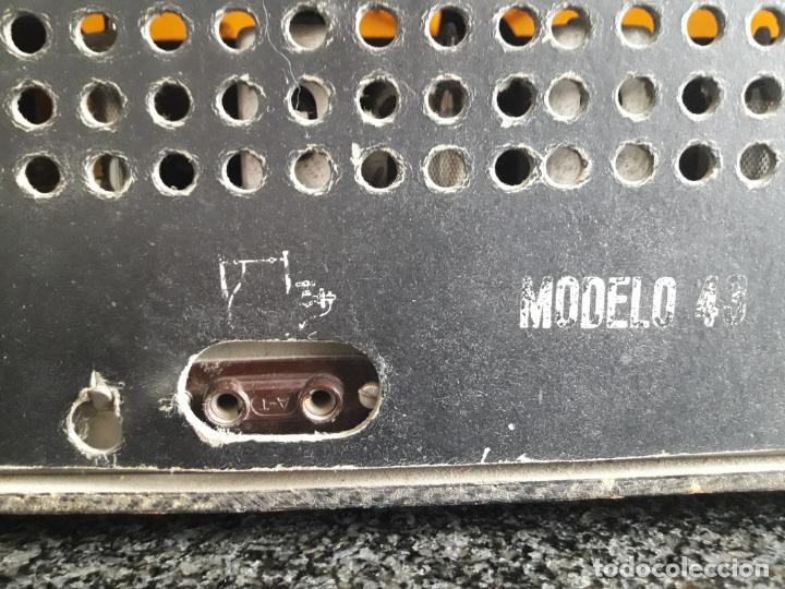 Radios de válvulas: ANTIGUA RADIO IBERIA DE VÁLVULAS - Foto 8 - 191803301