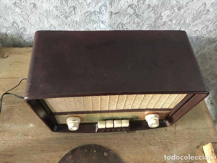Radios de válvulas: Radio Askar Baquelita. Funcionando a 125 Voltios (Usando transformador) - Foto 9 - 192174440