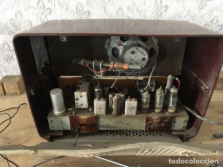 Radios de válvulas: Radio Askar Baquelita. Funcionando a 125 Voltios (Usando transformador) - Foto 11 - 192174440