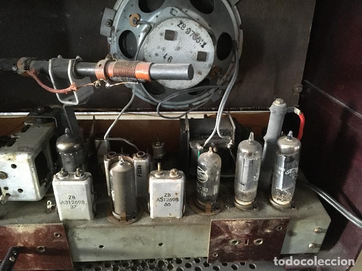Radios de válvulas: Radio Askar Baquelita. Funcionando a 125 Voltios (Usando transformador) - Foto 12 - 192174440