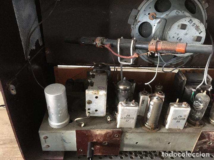 Radios de válvulas: Radio Askar Baquelita. Funcionando a 125 Voltios (Usando transformador) - Foto 13 - 192174440