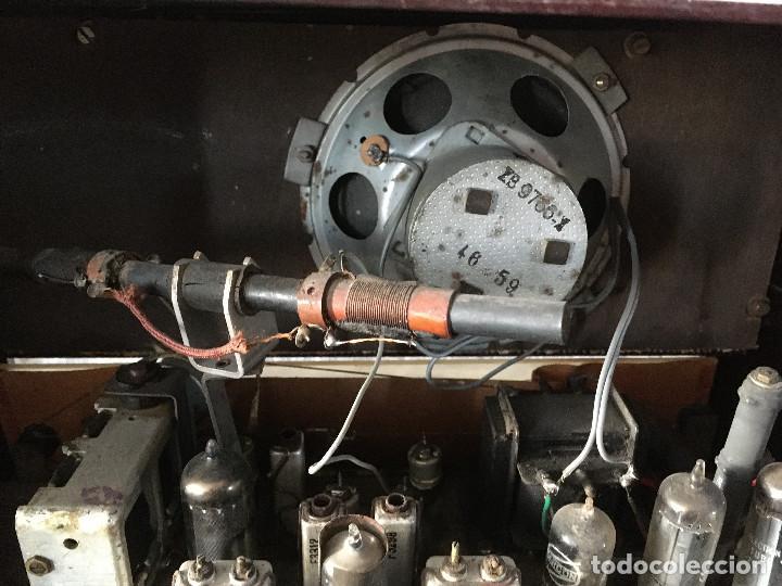 Radios de válvulas: Radio Askar Baquelita. Funcionando a 125 Voltios (Usando transformador) - Foto 14 - 192174440