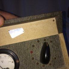 Radios à lampes: ANTIGUO TRANSFORMADOR MARCA PHONOVOX!. Lote 192395228