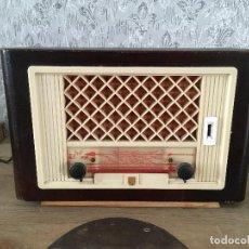 Radios de válvulas: RADIO PHILIPS BX 323U FUNCIONANDO 220 V. Lote 192499037