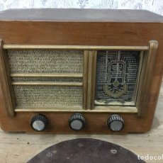 Radios de válvulas: RADIO ONDAX. FUNCIONA 125V. SOLO RUIDO.FRANCIA 1949.MODELO B462. Lote 192789782