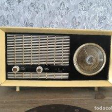 Rádios de válvulas: RADIO SBR PINTADA. PARA DECORAR. NO ENCIENDE. Lote 192794297