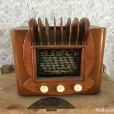 Radios à lampes: RADIO SBR MADERA. IMPRESIONANTE. . Lote 192795177