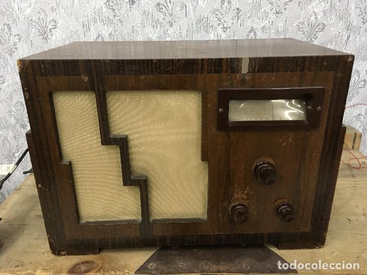 RADIO MARCONI TYPE 155, CINQ 534. AÑO 1933/1934. FRANCIA. FUNCIONA 125V (Radios, Gramófonos, Grabadoras y Otros - Radios de Válvulas)