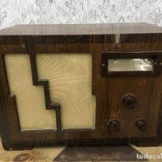Radios de válvulas: RADIO MARCONI TYPE 155, CINQ 534. AÑO 1933/1934. FRANCIA. FUNCIONA 125V. Lote 192796497