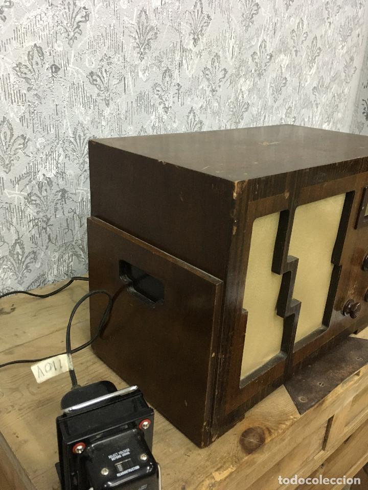 Radios de válvulas: RADIO MARCONI TYPE 155, CINQ 534. AÑO 1933/1934. FRANCIA. FUNCIONA 125V - Foto 6 - 192796497