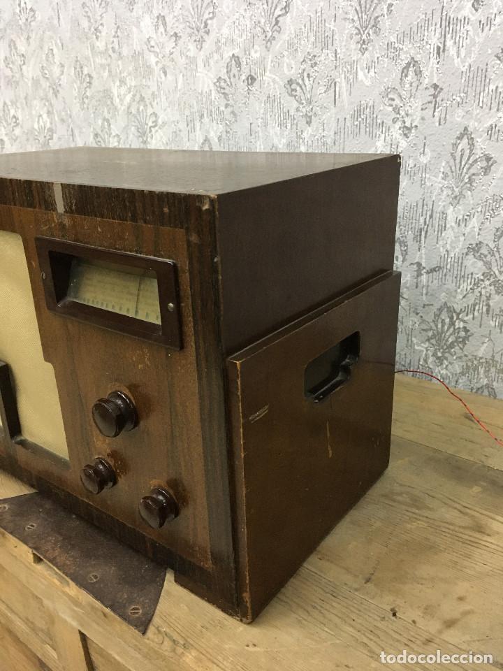 Radios de válvulas: RADIO MARCONI TYPE 155, CINQ 534. AÑO 1933/1934. FRANCIA. FUNCIONA 125V - Foto 7 - 192796497