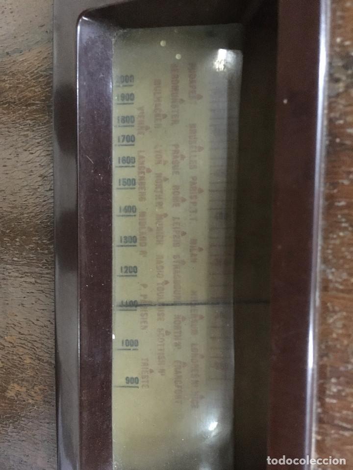 Radios de válvulas: RADIO MARCONI TYPE 155, CINQ 534. AÑO 1933/1934. FRANCIA. FUNCIONA 125V - Foto 10 - 192796497