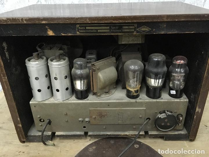 Radios de válvulas: RADIO MARCONI TYPE 155, CINQ 534. AÑO 1933/1934. FRANCIA. FUNCIONA 125V - Foto 13 - 192796497