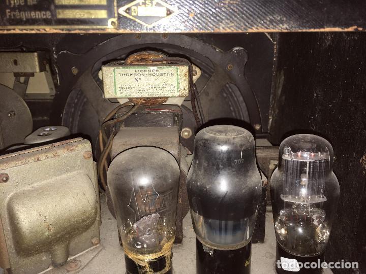 Radios de válvulas: RADIO MARCONI TYPE 155, CINQ 534. AÑO 1933/1934. FRANCIA. FUNCIONA 125V - Foto 16 - 192796497