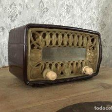 Radios de válvulas: RADIO RADIOLA RA11-U. ENCIENDE A 125V.. Lote 192963887
