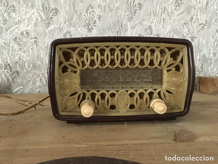 Radios de válvulas: RADIO RADIOLA RA11-U. ENCIENDE A 125V. - Foto 2 - 192963887