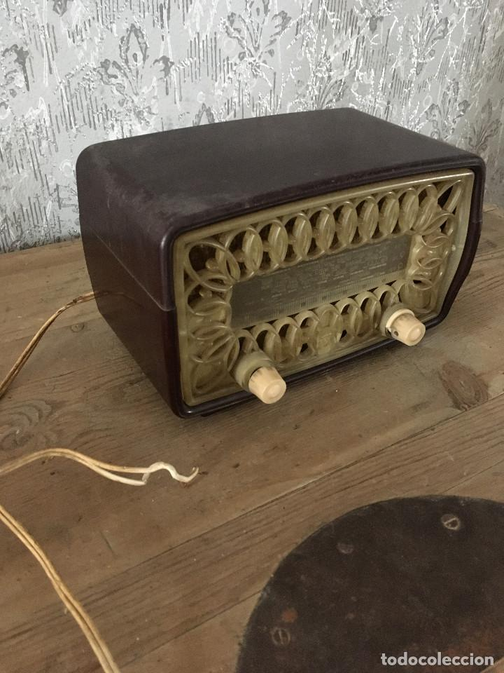Radios de válvulas: RADIO RADIOLA RA11-U. ENCIENDE A 125V. - Foto 5 - 192963887