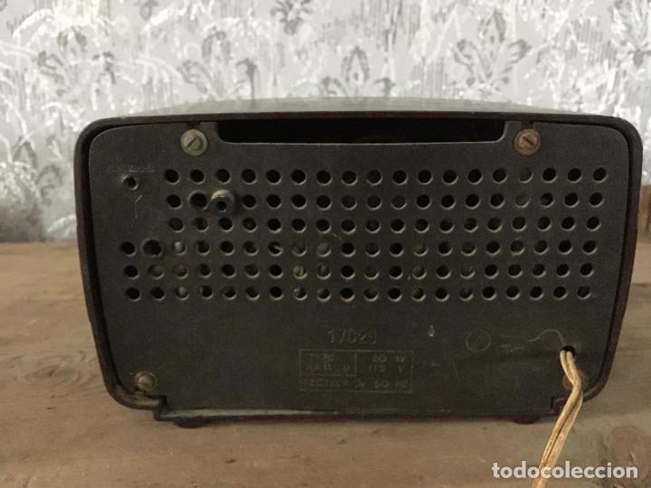 Radios de válvulas: RADIO RADIOLA RA11-U. ENCIENDE A 125V. - Foto 6 - 192963887