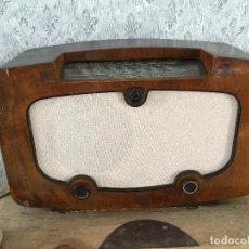 Radios de válvulas: RADIO ERRES KY 457. AÑO 1945. HOLANDA. FUNCIONA 220V. EN MUY BUEN ESTADO. Lote 192965225