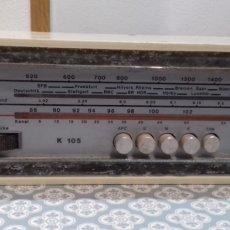 Radios à lampes: ANTIGUA RADIO ALEMANA LEFLN , EN.. Lote 193922825