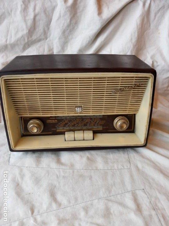 RADIO INVICTA MOD.5365. 1962 (Radios, Gramófonos, Grabadoras y Otros - Radios de Válvulas)