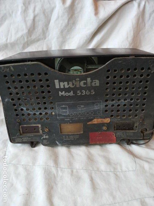Radios de válvulas: Radio Invicta mod.5365. 1962 - Foto 3 - 193993285