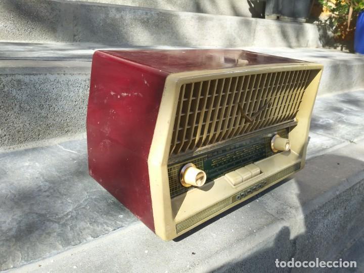 ANTIGUA RADIO INTER TEXAS MODELO P. 239 MADERA VÁLVULAS (Radios, Gramófonos, Grabadoras y Otros - Radios de Válvulas)