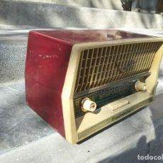 Radios de válvulas: ANTIGUA RADIO INTER TEXAS MODELO P. 239 MADERA VÁLVULAS. Lote 194099091