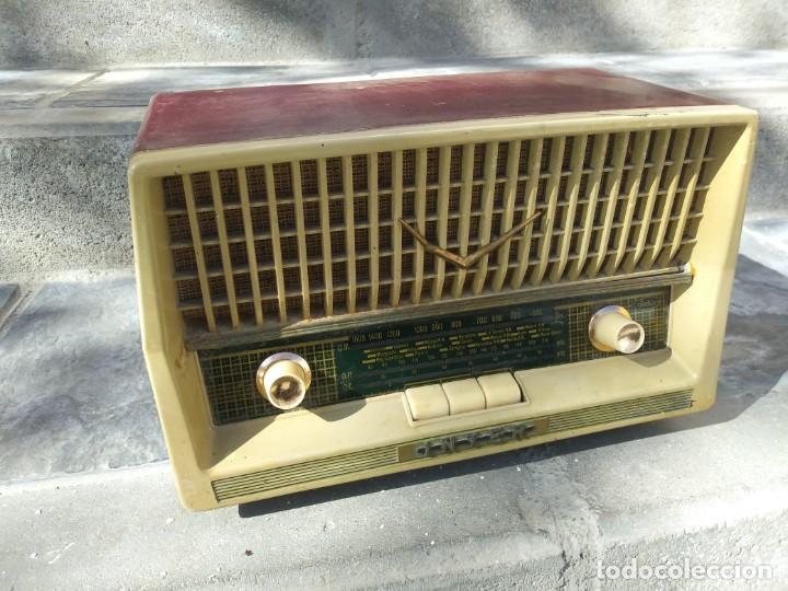 Radios de válvulas: Antigua radio INTER TEXAS modelo P. 239 madera válvulas - Foto 2 - 194099091