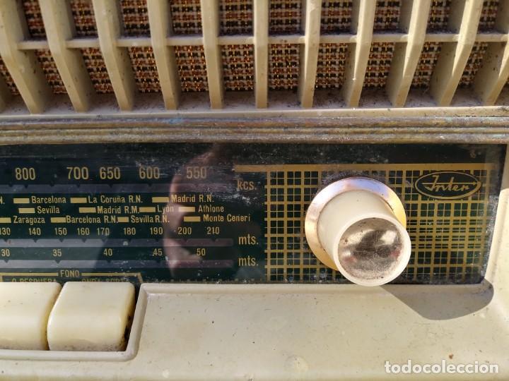 Radios de válvulas: Antigua radio INTER TEXAS modelo P. 239 madera válvulas - Foto 5 - 194099091