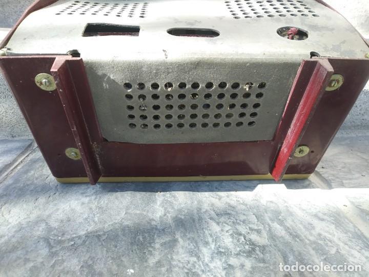 Radios de válvulas: Antigua radio INTER TEXAS modelo P. 239 madera válvulas - Foto 12 - 194099091