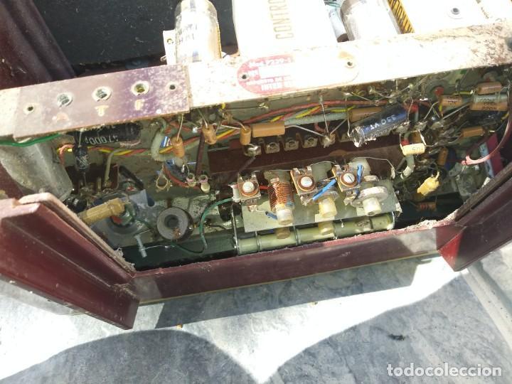 Radios de válvulas: Antigua radio INTER TEXAS modelo P. 239 madera válvulas - Foto 14 - 194099091