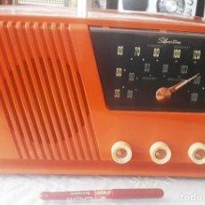 Radios de válvulas: RADIO SILVERTONE AM/FM FUNCIONANDO CORRECTAMENTE. VER VIDEO.. Lote 194189553