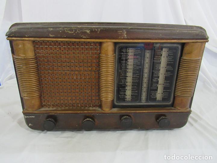 Radios de válvulas: Radio Antigua 50 x 30 x 25 cm. - Foto 2 - 194218558
