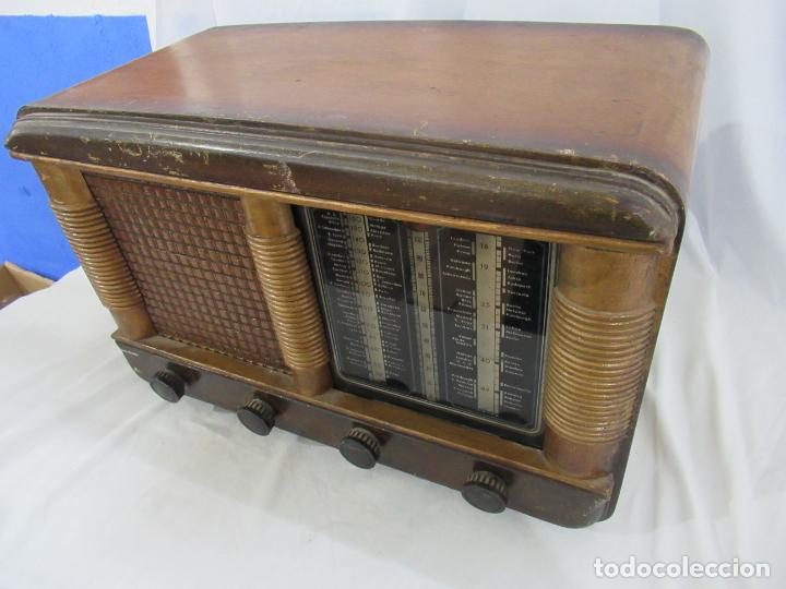 Radios de válvulas: Radio Antigua 50 x 30 x 25 cm. - Foto 4 - 194218558