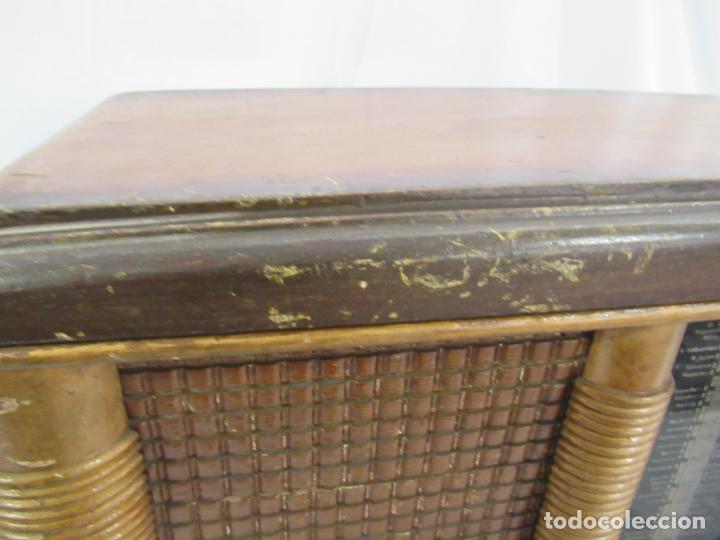 Radios de válvulas: Radio Antigua 50 x 30 x 25 cm. - Foto 7 - 194218558