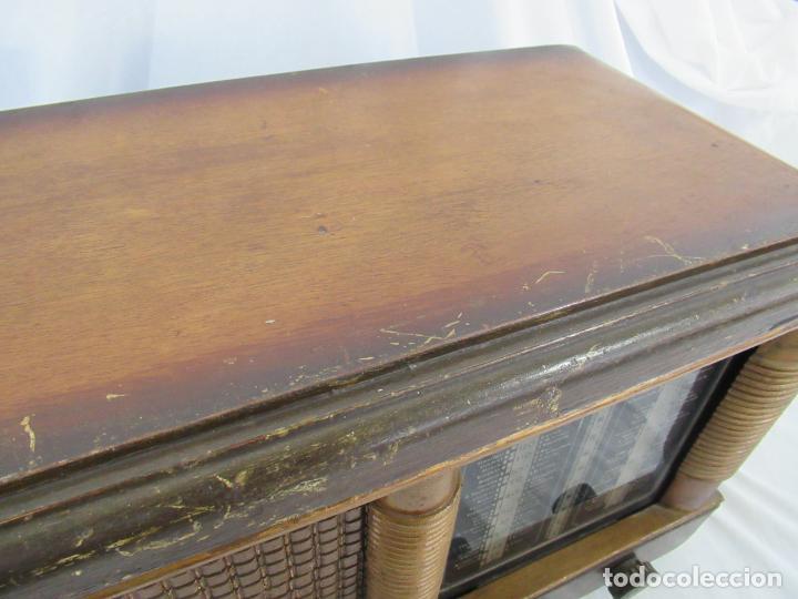 Radios de válvulas: Radio Antigua 50 x 30 x 25 cm. - Foto 8 - 194218558