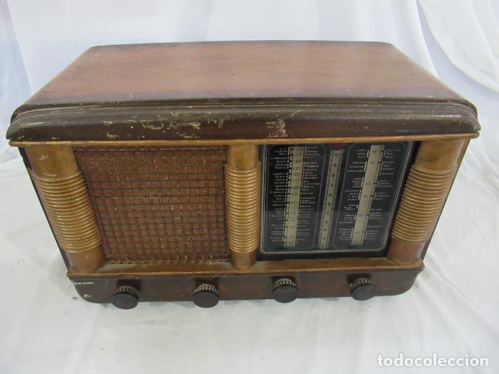 Radios de válvulas: Radio Antigua 50 x 30 x 25 cm. - Foto 17 - 194218558