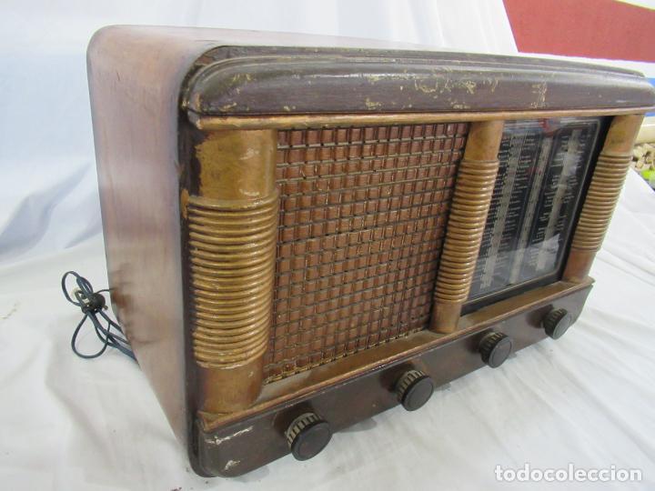 Radios de válvulas: Radio Antigua 50 x 30 x 25 cm. - Foto 18 - 194218558