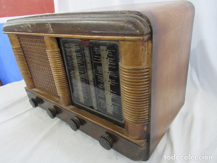 Radios de válvulas: Radio Antigua 50 x 30 x 25 cm. - Foto 19 - 194218558