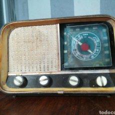 Radios à lampes: ANTIGUA RADIO A VALVULAS PARA DESPIECE O REATAURAR 38X16X20CM. Lote 194272567