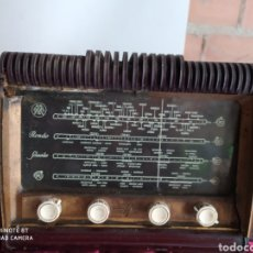 Radios de válvulas: PRECIOSA RADIO ANTIGUA. Lote 194293775