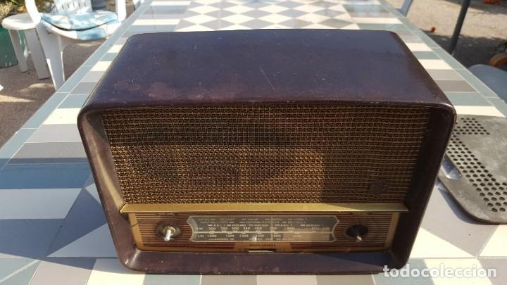 RADIO ANTIGUA BAQUELITA DE VÁLVULAS ECKO (Radios, Gramófonos, Grabadoras y Otros - Radios de Válvulas)