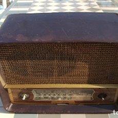 Radios de válvulas: RADIO ANTIGUA BAQUELITA DE VÁLVULAS ECKO. Lote 194347035