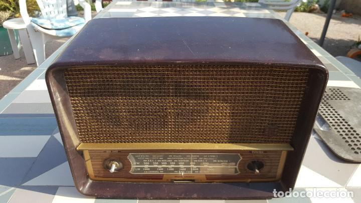 Radios de válvulas: Radio antigua baquelita de válvulas Ecko - Foto 2 - 194347035